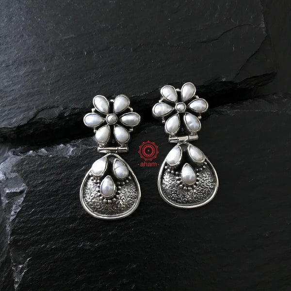 Everydaywear Silver Studs with pearls