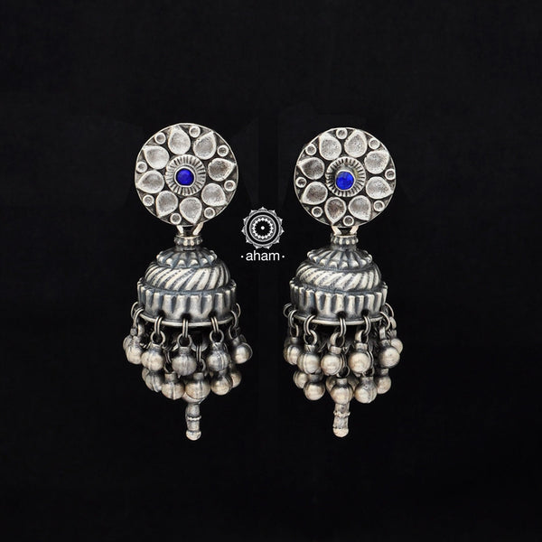 92.5 Sterling Silver Tribal Jhumkie