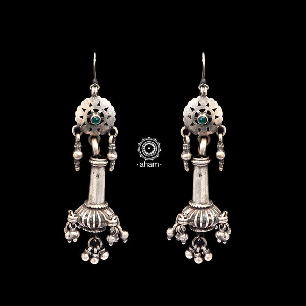 Tribal Silver Earring
