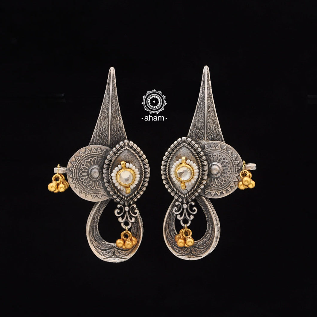 Noori One of a Kind Silver Earring