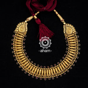Gold Polish Chandrika Neckpiece