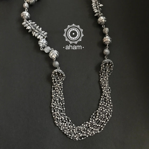 Long light weight neckpiece in 92.5 Sterling silver