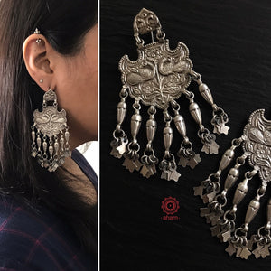 Mewad Peacock Earrings