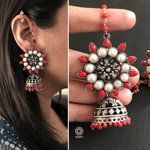 Coral and Pearl Jhumkie