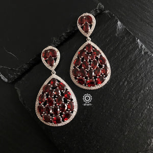 Red Glam Earring