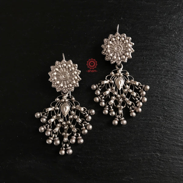 Our most popular and signature Filigree Silver Earring.