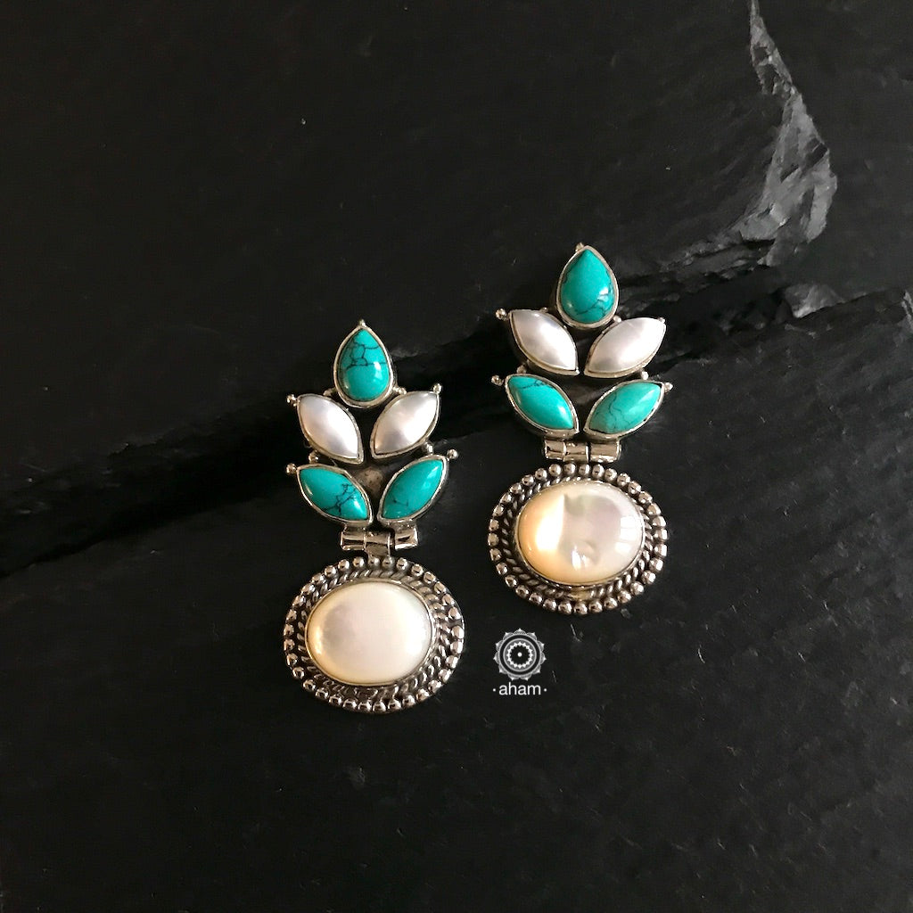 Summer Love Flower Pearl & Turquoise