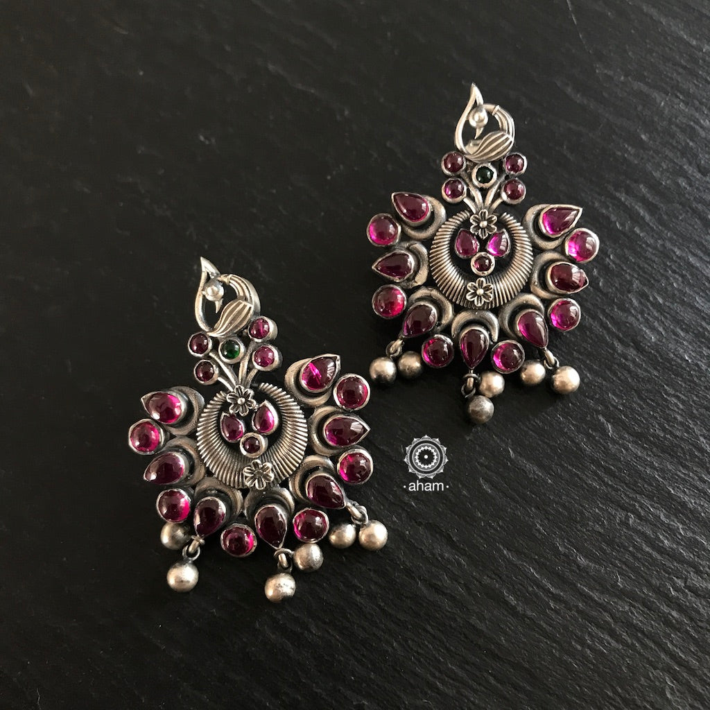 Nritaym Peacock Earrings