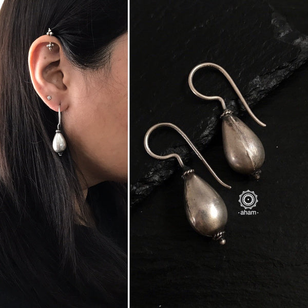 Classic Everyday wear silver hooks