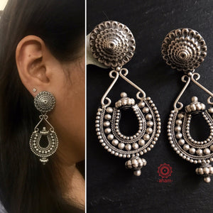 Ananya Silver Earrings