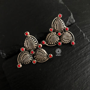 Summer Love Red Leaf Studs
