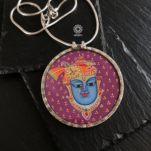 Shrinathji Hand Painted Pendant