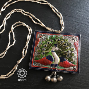 Two Sided Peacock Neckpiece