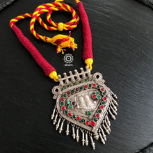 Pendant with Cotton Thread