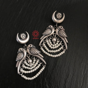 Beaded Parrot Earring