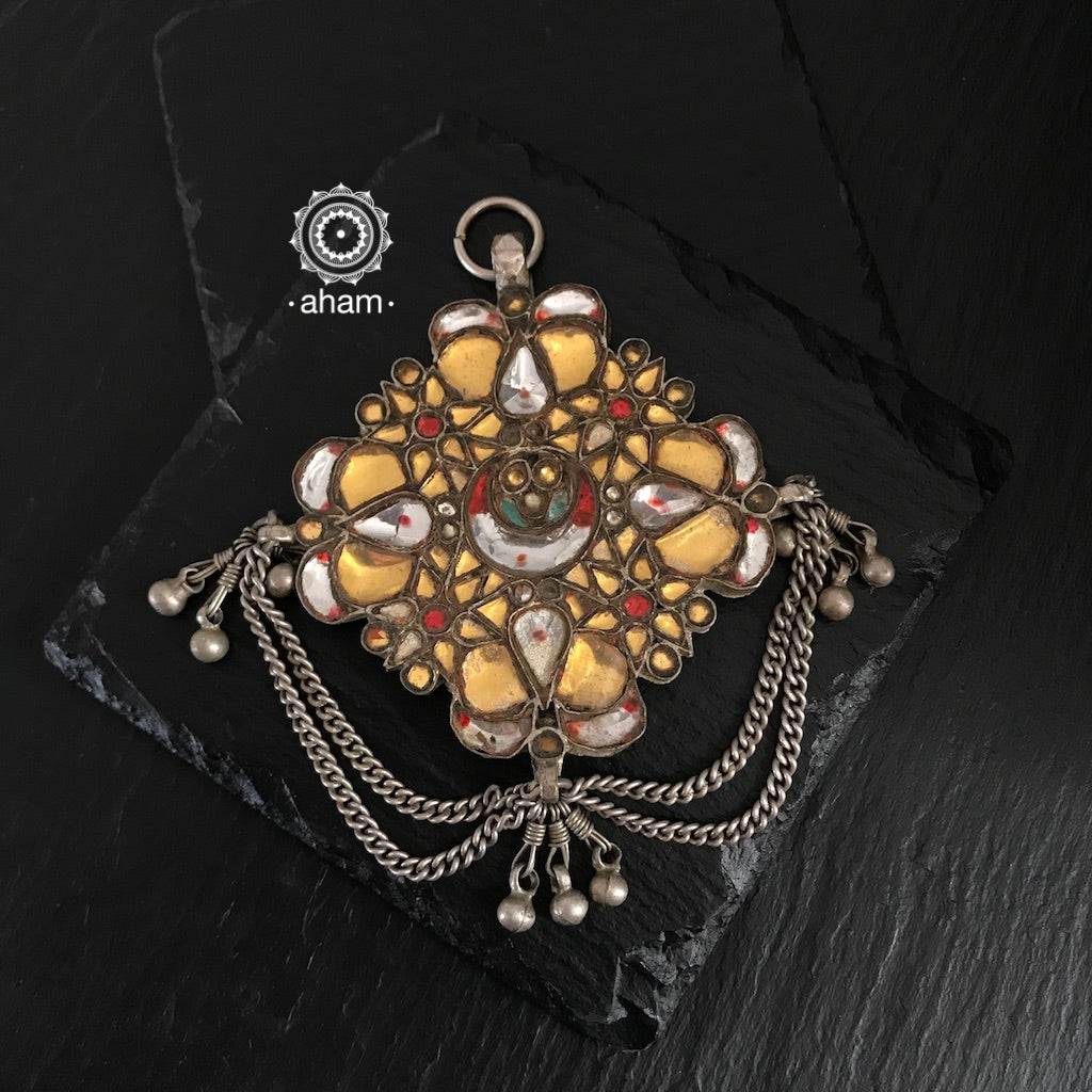 Vintage Glass Pendant