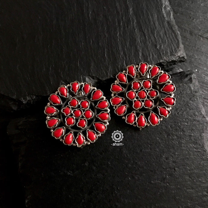 Summer Love Red Studs