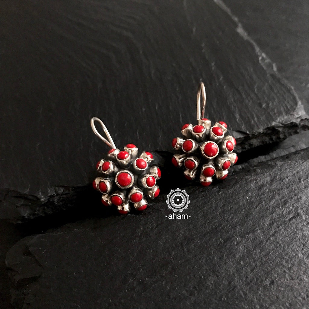 Coral Drop Earring