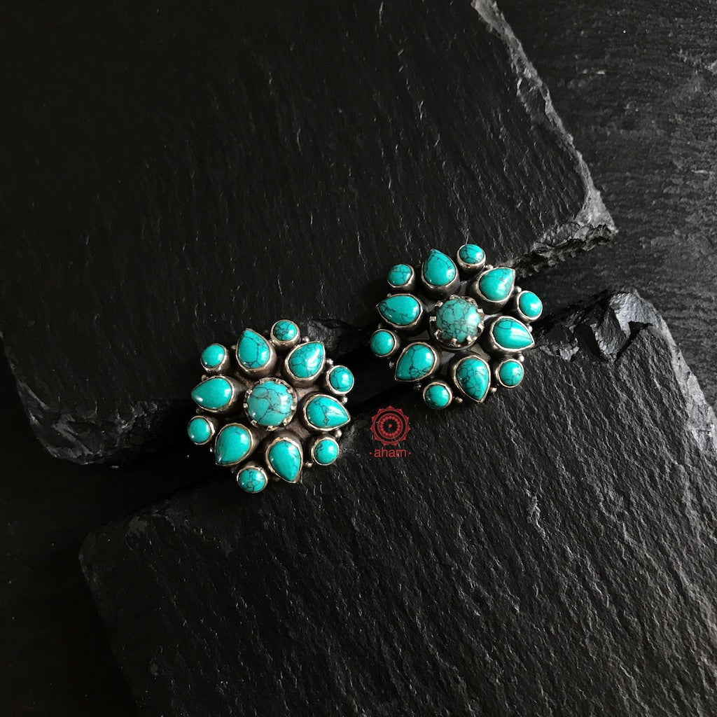 Summer Love Turquoise Studs