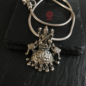 One of a Kind Saraswati Pendant