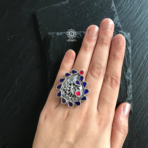 Adjustable Rang Mahal Ring