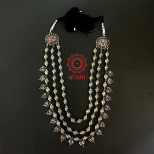 Three Line Lakshmi Light weight Neckpiece