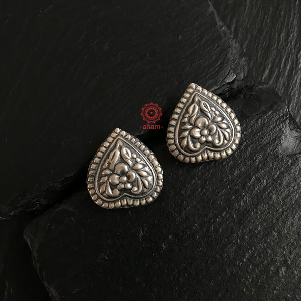 Inverted Heart Studs
