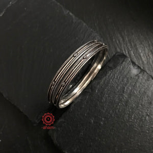 Everyday wear Silver Bangles