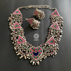 Heart Neckpiece with Earrings