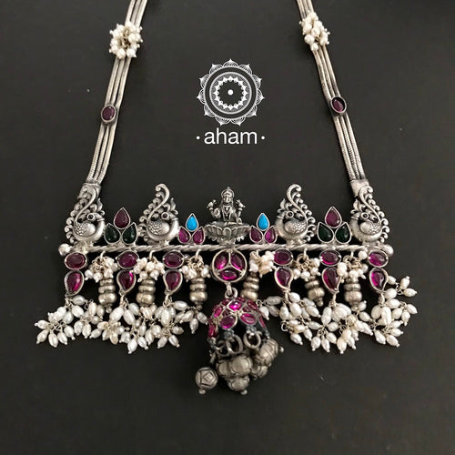 One of a Kind Kemp Pearl Lakshmi Neckpiece