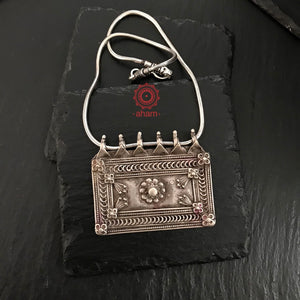 Vintage Rectangle Pendant