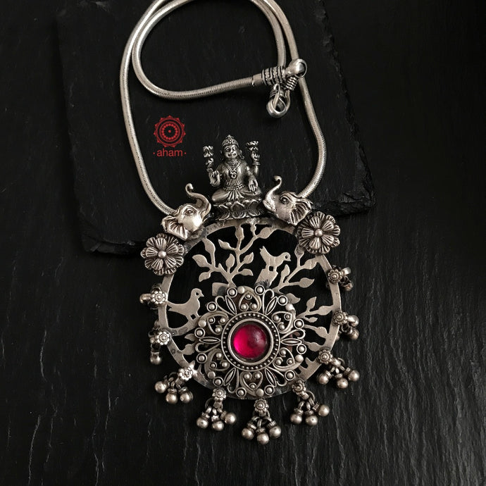 One of a kind Lakshmi Pendant