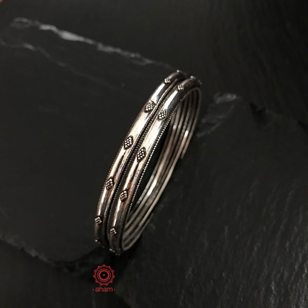 Everyday Silver Bangles