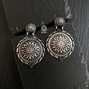 Nrityam Silver Earrings