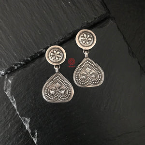 Light Weight Silver Earrings
