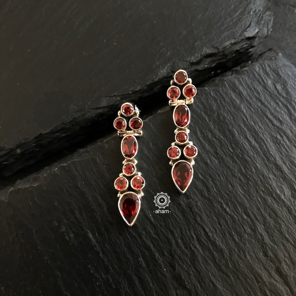 Evening Glam Earring_Red