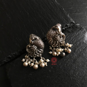 Nrityam Peacock earrings