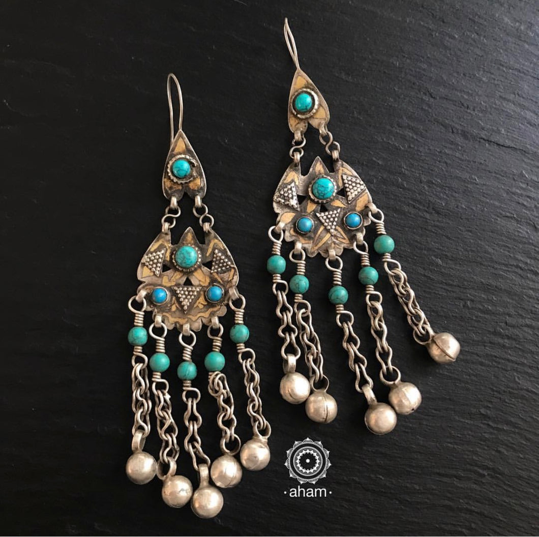 Turkmen with Turquoise