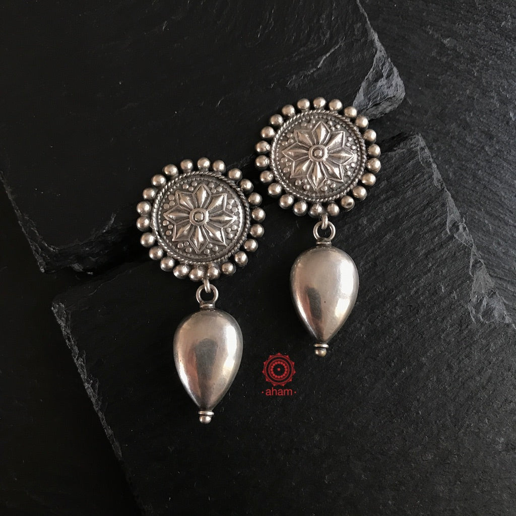 Ananya Silver Work Wear Earrings