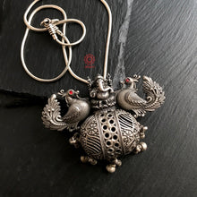 Ganesha Pendant with Peacock