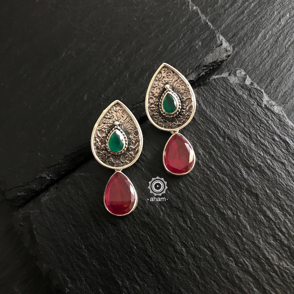Everyday wear light weight Silver Earrings