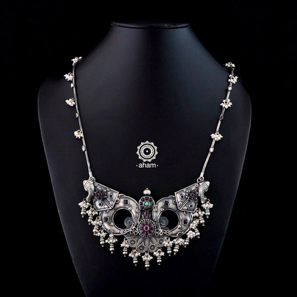 One of a Kind Silver Neckpiece