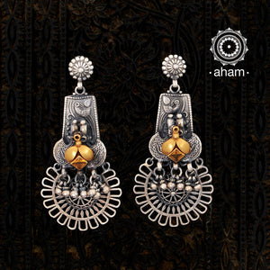 Dual Tone Nuri one of a kind earring