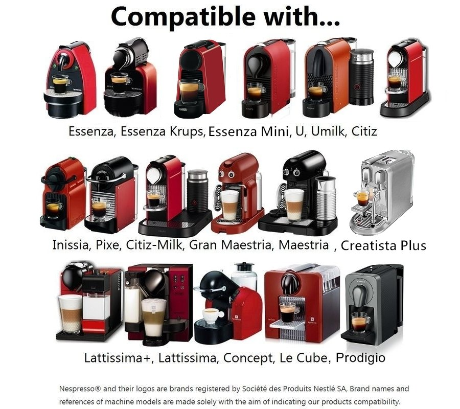 Compatible Nespresso Machines for SealPod