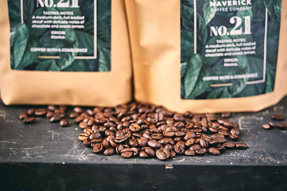 Recyclable LDPE4 Coffee Pouches