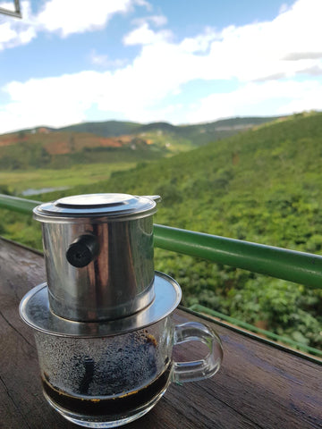 Vietnam slow drip coffee