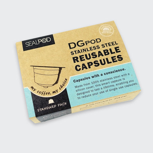 DGpod Dolce Gusto® Reusable Pod 1 pack (+ 200 filter papers) - Maverick Coffee Co.