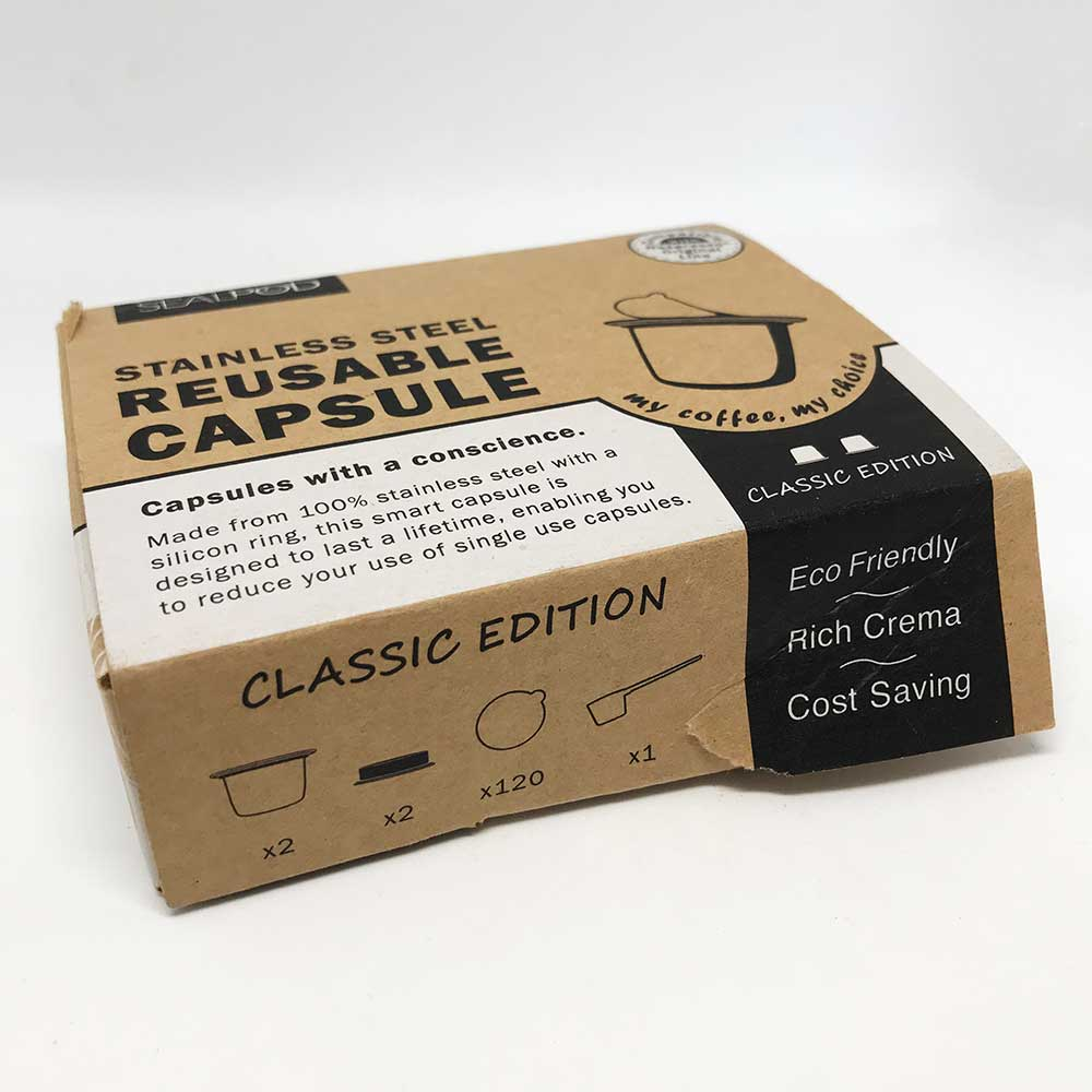 SealPod Nespresso® Classic Edition Reusable Coffee Capsules (2 Pack) - Damaged Box