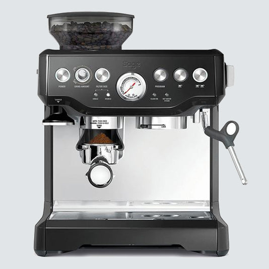 Sage Barista Express Coffee Machine with Milk Jug - Maverick Coffee Co.