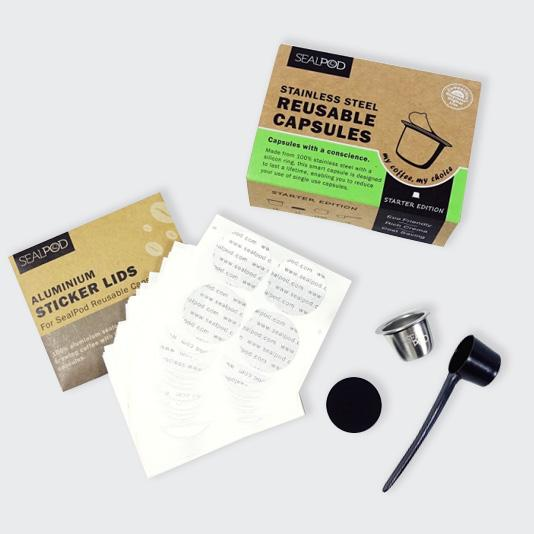 SealPod Nespresso® Reusable Capsule Starter 1 Pack (wholesale) - Maverick Coffee Co.